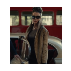 Disney Cruella Emma Thompson Long coat