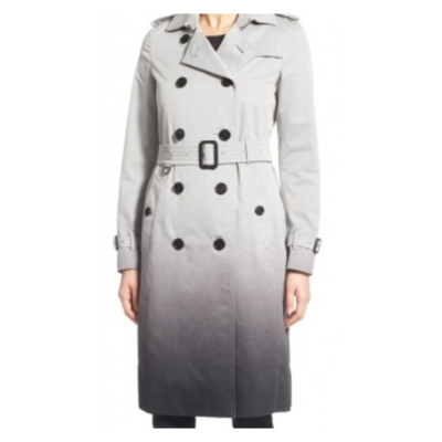 Batwoman Ombre trench coat