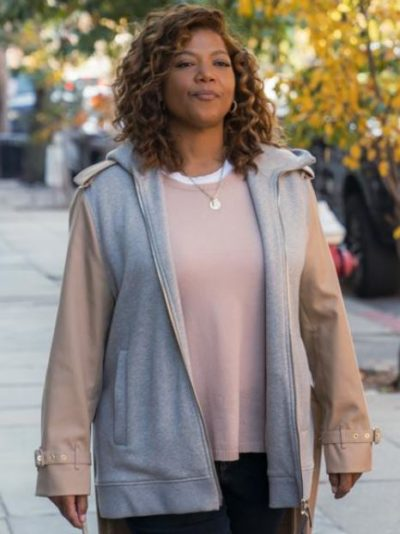 queen latifah the equalizer 2021 robyn mccall long tail jacket