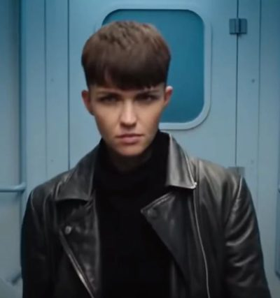 sas red notice ruby rose leather jacket
