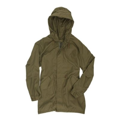 Airborne Embroidered Fishtail Parka