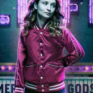 American Gods S02 Emily Browning Varsity Jacket