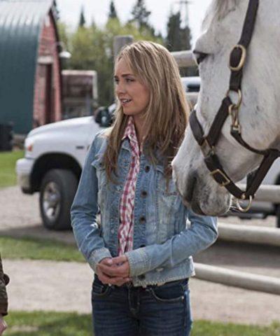 Amy Fleming Heartland Denim Jacket
