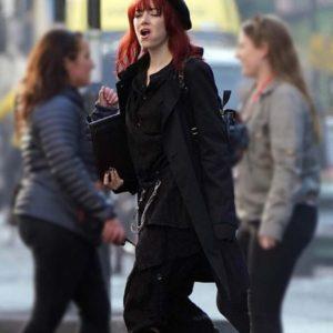 Cruella Emma Stone Black Coat