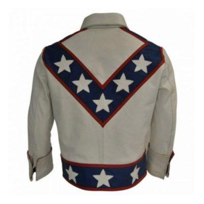 Daredevil Evel Knievel Leather Jacket
