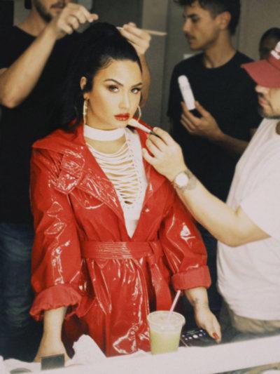 Demi Lovato I Love Me Song Red Coat