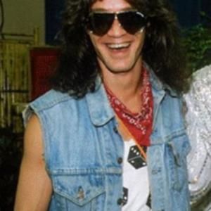 Eddie Van Halen Denim Vest