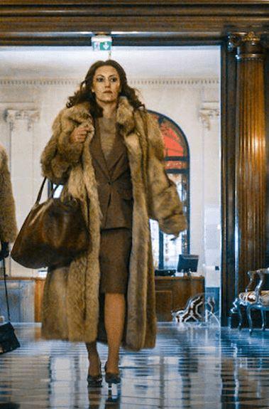 Fernande Grudet Madame Claude Karole Rocher Fur Coat