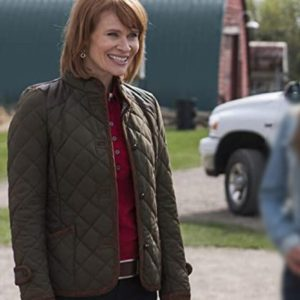Heartland Kendra Quilted Green Jacket