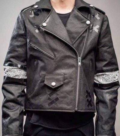 Julian Casablancas Crush Leather Jacket