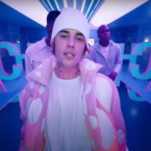 Justin Bieber Peaches Pink Jacket