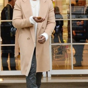 Kanye West Trench Wool Coat