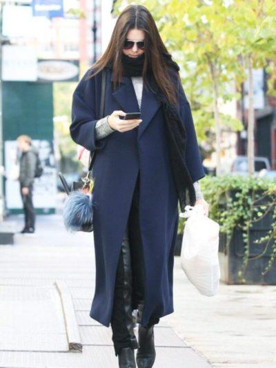 Kendall Jenner Blue Coats