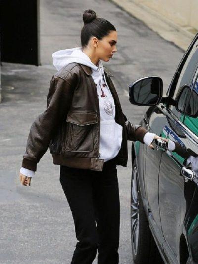 Kendall Jenner Bomber Jacket