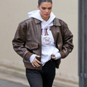Kendall Jenner Leather Jacket