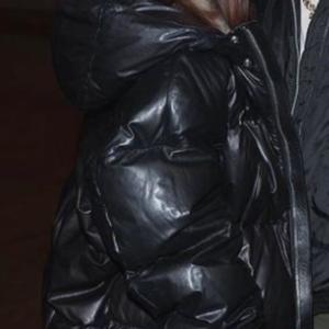 Kim Kardashian Black Hooded Jacket