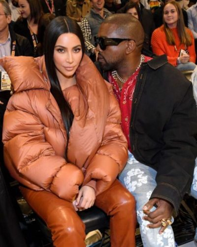 Kim Kardashian Puffer Jacket