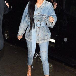 Kylie Jenner Blue Jean Jacket