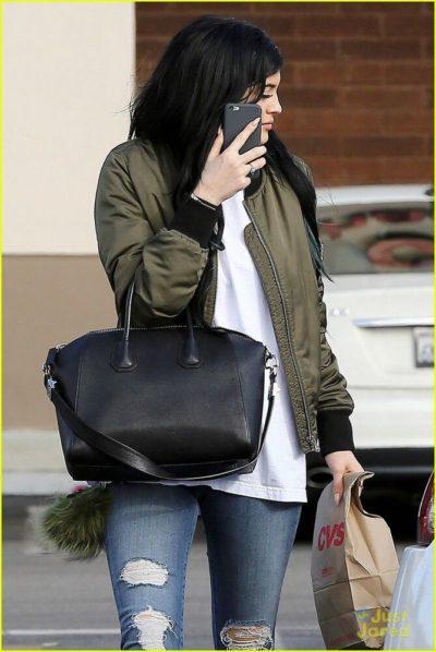 Kylie Jenner Green Jacket