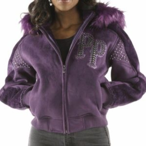 Ladies Pelle Pelle Queen of Thrones Purple Jacket