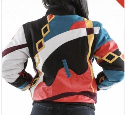 Ladies Pelle Pelle Wool Varsity Jacket