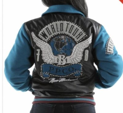 Ladies Pelle Pelle World Tour Bomber Jacket