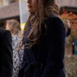 Legacies S03 Hope Mikaelson Navy Wool Coat