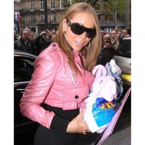 Mairah Carey Pink Cotton Jacket