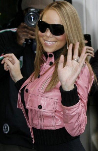 Mairah Carey Pink Jacket