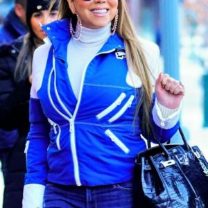 Mariah Carey Blue Jacket