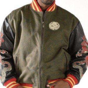 Mens Pelle Pelle Dragon Heart Jacket