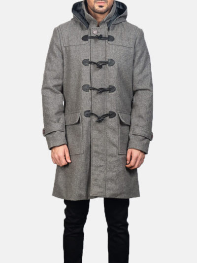 Men's Wool Duffle Coat