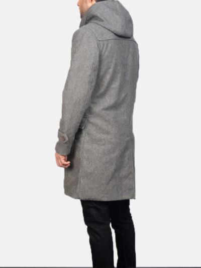 Men's Wool Grey Duffle Coats