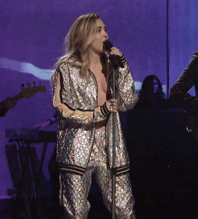 Miley Cyrus Silver Jackets