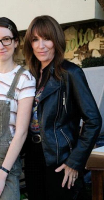 Rebel Katey Sagal Black Leather Jacket