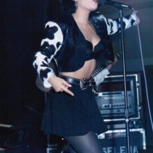 Selena Quintanilla Black Cropped Jacket
