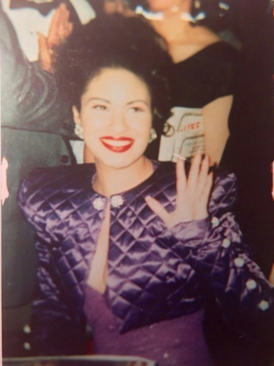 Selena Quintanilla Purple Quilted Jacket