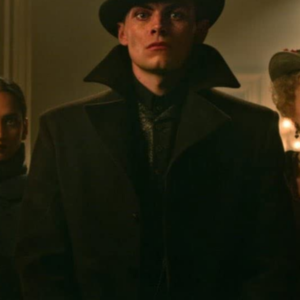Shadow and Bone Freddy Carter Black Coat