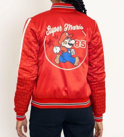 Super Mario Shiny Bomber Jacket
