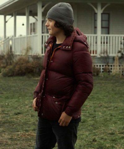 Superman and Lois Jordan Kent Puffer Jacket