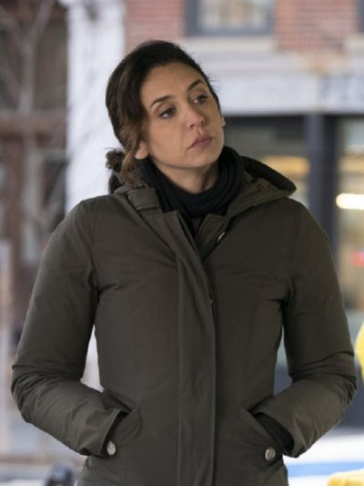 The Blacklist Mozhan Marnò Hooded Coat