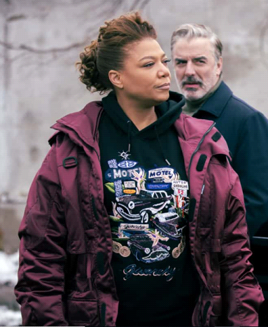 The Equalizer 2021 Queen Latifah Red Jacket