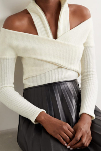 The Equalizer Melody Chu Sweater