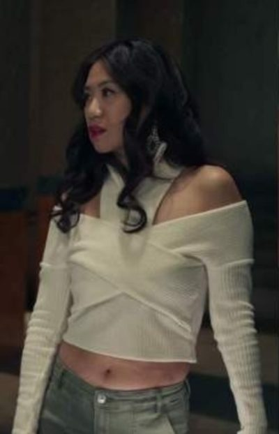 The Equalizer Melody Chu White Sweater