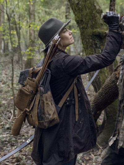 The Walking Dead Maggie Rhee Coat