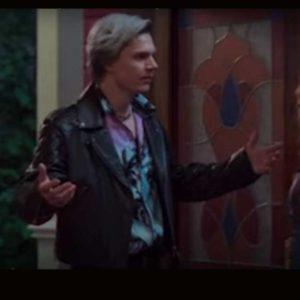 WandaVision 2021 Evan Peters Leather Jacket