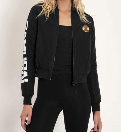 Women Samurai Bomber Jacket