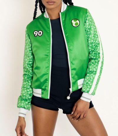 Yoshi Bomber Green Jacket