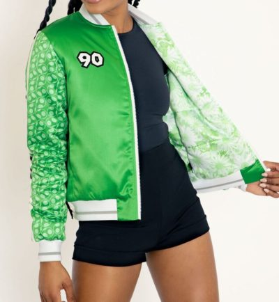 Yoshi Shiny Green Jacket