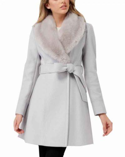 bess marvin nancy drew maddison jaizani fur collar coat